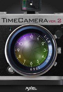「TimeCamera for iPhone」起動画面