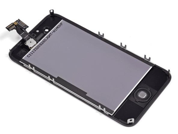 iPhone のディスプレイ