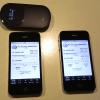 iPhone 4S ソフトバンク回線とドコモ回線(モバイルWi-Fiルーター)の速度比較