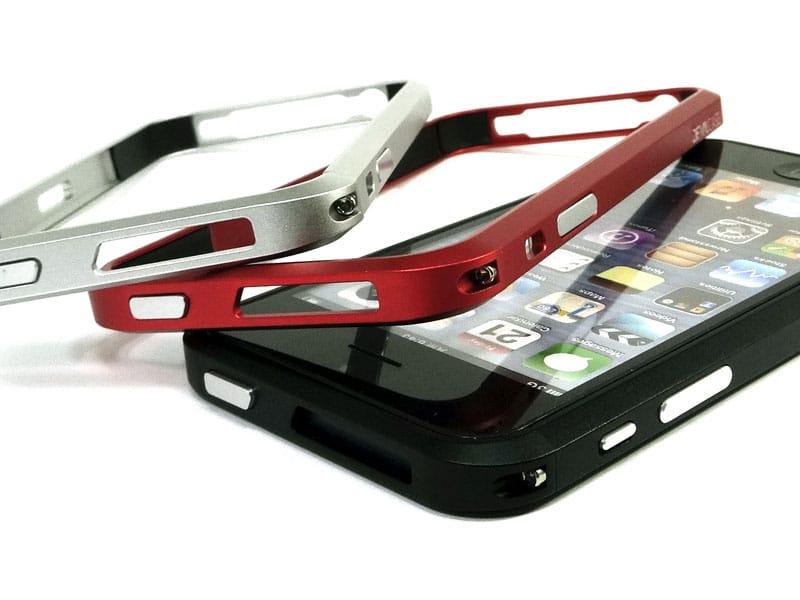 iPhone 5 アルミニウムバンパー アルマイト処理が美しいDevilCase for iPhone 5