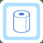 トイレットペーパー(512×512)