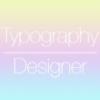クールなタイポグラフィデザイン作成アプリ『Typography Designer 』