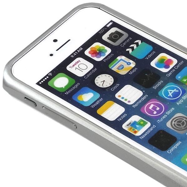 iPhone 5s バンパー シルバー