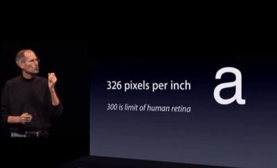 iPhone 6 の画面は 1,704 x 960 ピクセルで大きくて高解像度に?