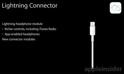 Lightning コネクタに接続するヘッドホンで高音質・高性能化、iPhoneもスリムに?