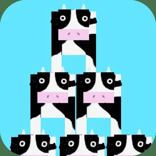 牛を高くつみあげよう!★【無料ゲーム】タワベコ