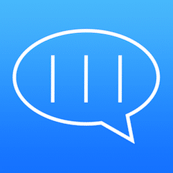 コップポーンメッセージ – iMessageで縦書きメッセージを送信できるアプリです。フォントの種類や色も選べる!