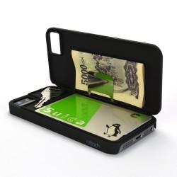 できる男のiPhone5sケース『iCash』。すべてをiPhoneに集約。