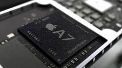 サムスン製のA7プロセッサ 提供:Apple