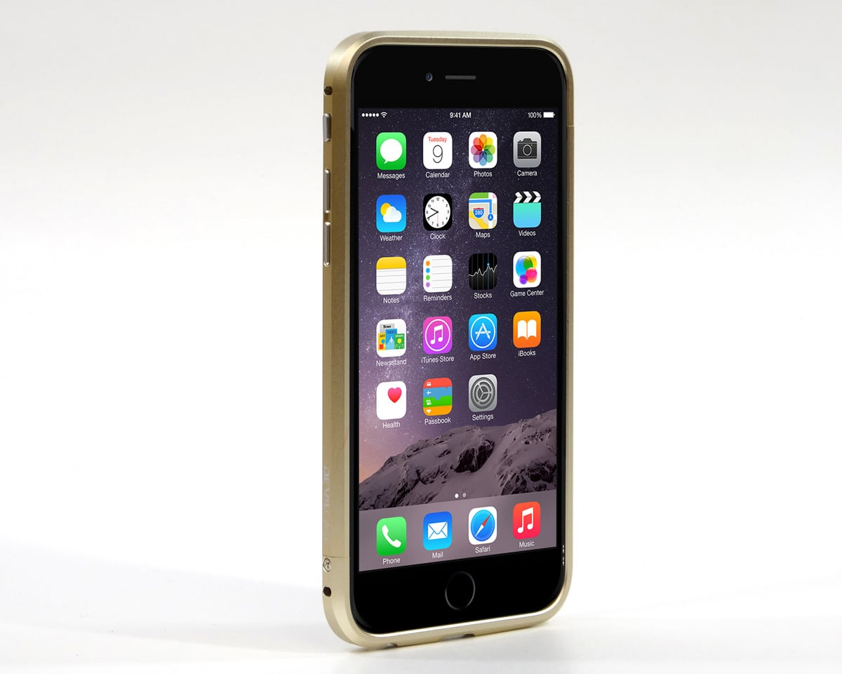 iPhone 6 アルミケース