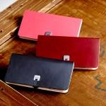 待ってましたEVOUNIの革!でました。iPhone6&plus用の手帳型カウレザーケースです。
