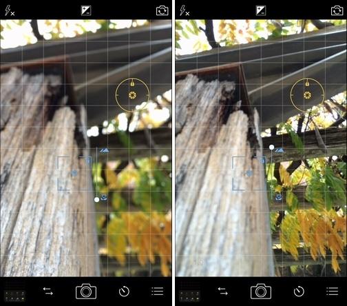 ProCamera 8 V6.1 手動フォーカス