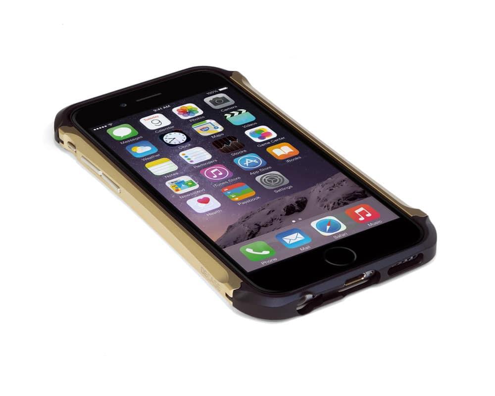 iPhone アルミニウムバンパー