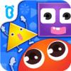 「かたちで遊ぼうーBabyBus」はかたちパズルゲームで遊びながら、子どもの形状認識力や構成力、想像力を養えます。