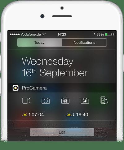todaywidget_quicklauncher_Mockup-iP6silver