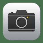 Apple純正のカメラアプリでも露出補正ができる