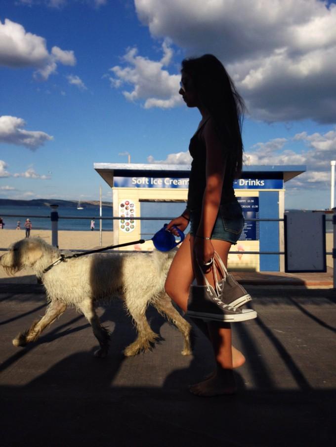Beach_womanDog
