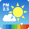 PM2.5と黄砂の予報アプリ「大気汚染予報」が速報値の表示に対応!